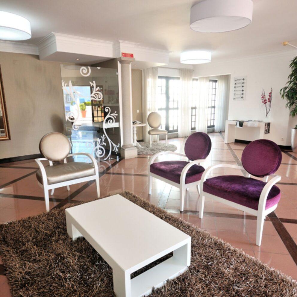 Josefa Obidos Hotel, receção e floyer